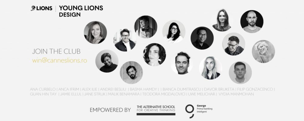 YOUNG LIONS DESIGN: CONFIRMED SPEAKERS