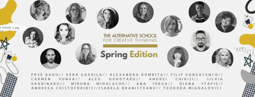 THE ALTERNATIVE SCHOOL – CREATIVE TRAININGS SCHEDULED FOR THIS SPRING